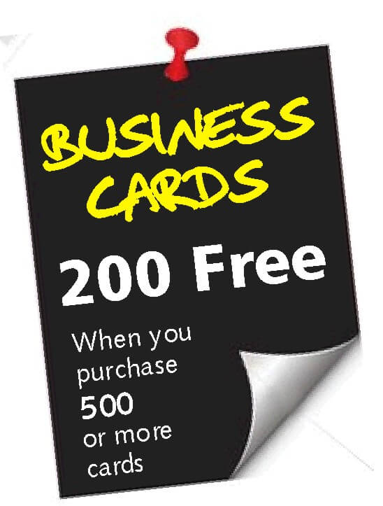 Business Card Offer